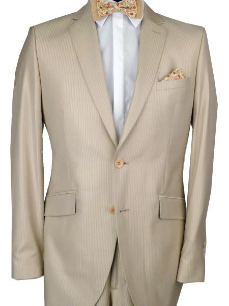 Costume  beige en promotion
