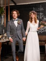 Costume WILVORST beige gamme Green Wedding